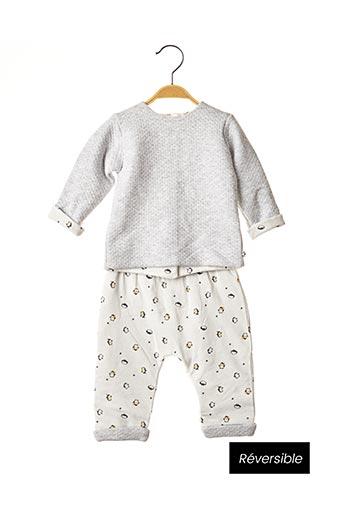 Top/pantalon gris ABSORBA pour enfant