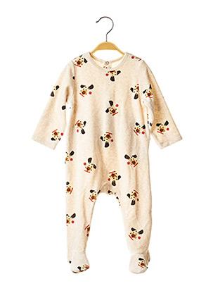 Pyjama beige CATIMINI pour garçon