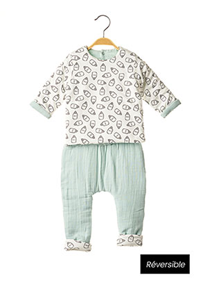 Top/pantalon vert ABSORBA pour garçon