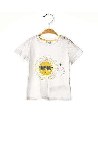T-shirt manches courtes jaune ABSRO pour garçon