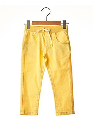 Pantalon casual jaune ABSORBA pour garçon