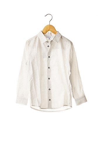 Chemise manches longues blanc ABSORBA pour garçon