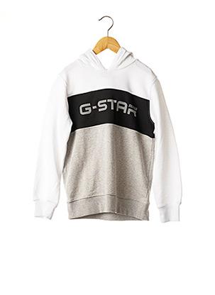 Sweat-shirt gris G STAR pour garçon