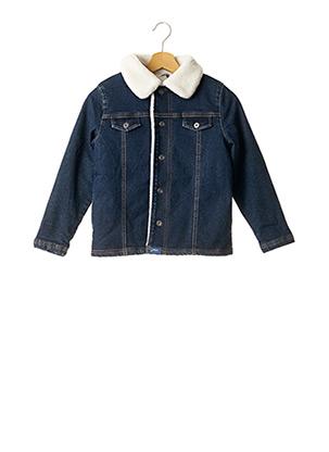 Veste en jean bleu 3 POMMES pour enfant