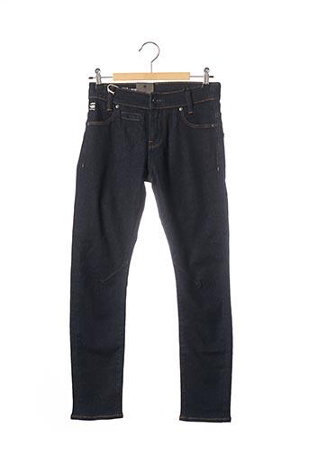 Jeans coupe slim bleu RAW-7 pour enfant