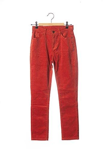 Pantalon casual orange 3 POMMES pour fille