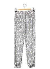 Pantalon casual blanc CHIPIE pour fille seconde vue