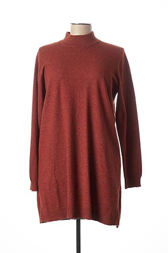 Robe pull orange B.YOUNG pour femme