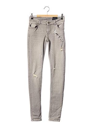 Jeans skinny gris DESIRES pour femme