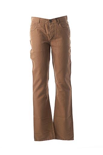Pantalon casual beige IKKS pour homme