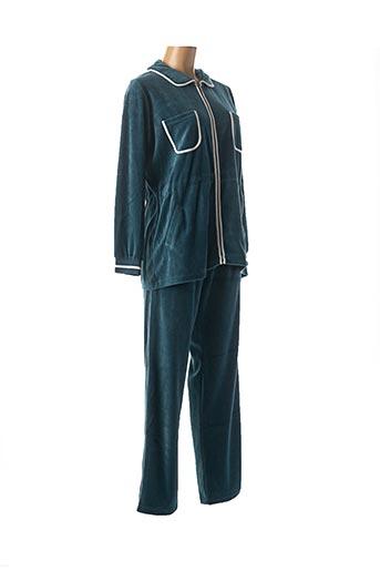 Pyjama bleu CANAT pour femme