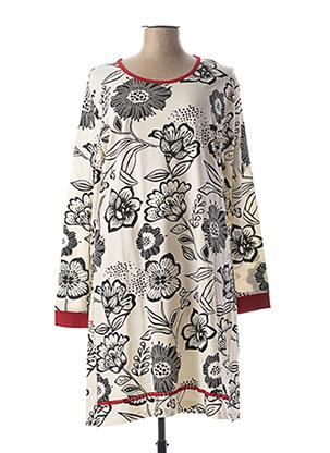 Chemise de nuit noir ROSE POMME pour femme