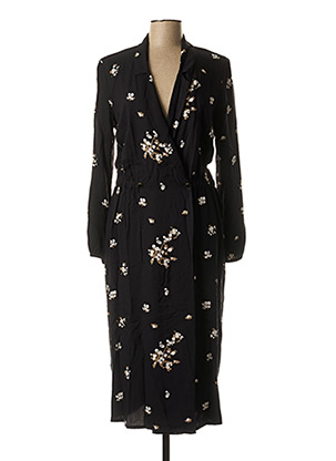 Robe longue noir I.CODE (By IKKS) pour femme