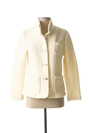 Veste chic / Blazer beige ELEONORA AMADEI pour femme