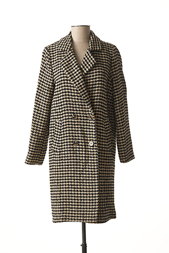 Manteau long marron LA FEE MARABOUTEE pour femme