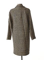 Manteau long marron LA FEE MARABOUTEE pour femme seconde vue