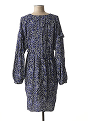 Robe mi-longue bleu LA FEE MARABOUTEE pour femme seconde vue