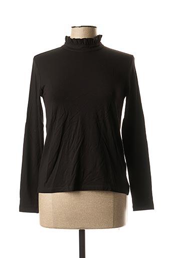 T-shirt manches longues noir LA FEE MARABOUTEE pour femme