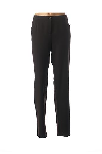 Pantalon chic noir TELMAIL pour femme