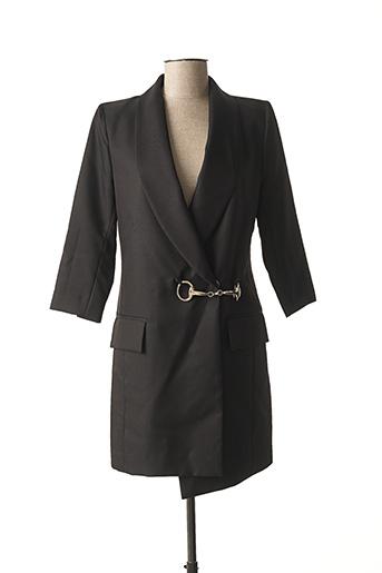Robe courte noir HOTEL PARTICULIER pour femme