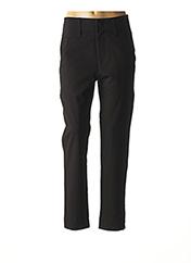 Pantalon casual noir HIGH pour femme seconde vue