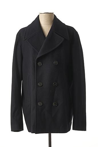 Manteau long bleu TOMMY HILFIGER pour homme