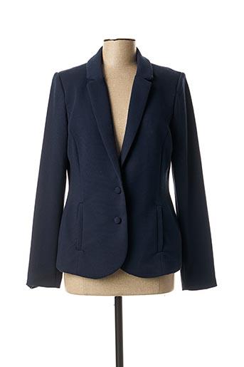 Veste chic / Blazer bleu FRANSA pour femme