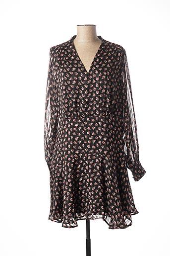Robe courte noir MAISON SCOTCH pour femme