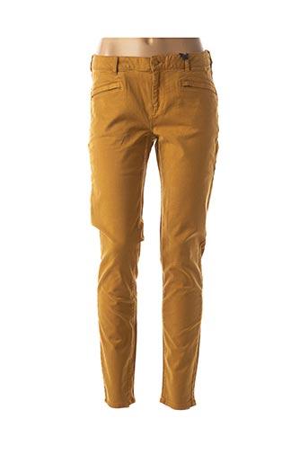 Pantalon casual jaune MAISON SCOTCH pour femme