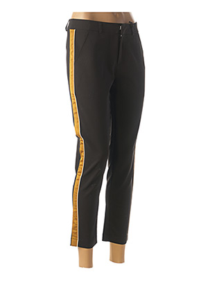 Pantalon 7/8 noir MAISON SCOTCH pour femme