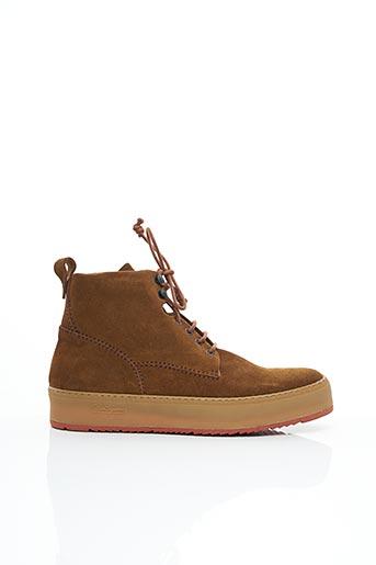 Bottines/Boots marron BARLEYCORN pour homme