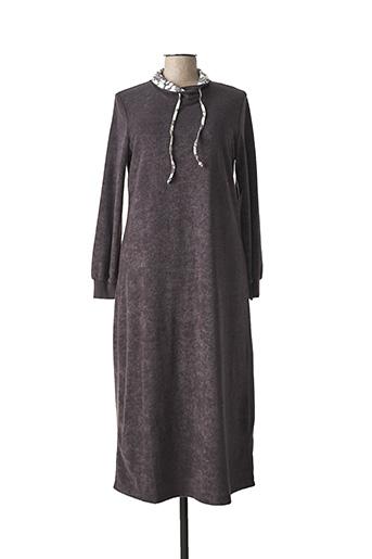Chemise de nuit gris CHERIE LINE pour femme