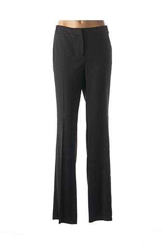 Pantalon casual noir LA MANUFACTURE 8 LINVINGSTONE pour femme