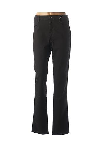 Jeans coupe droite noir CLOSED pour femme