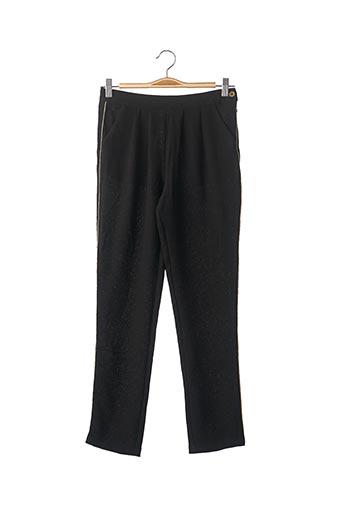 Pantalon casual noir BOBOLI pour fille
