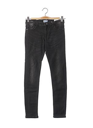 Jeans coupe slim noir MAYORAL pour garçon
