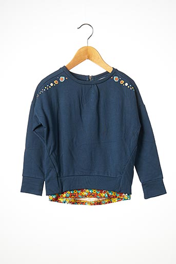 Sweat-shirt bleu TUC TUC pour fille