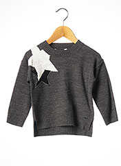 Pull col rond gris MAYORAL pour fille seconde vue