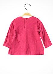 T-shirt manches longues rose MAYORAL pour fille seconde vue