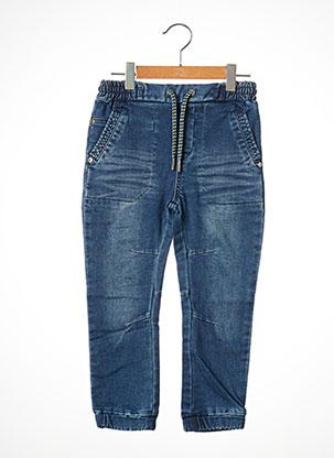 Jeans coupe droite bleu BOBOLI pour garçon