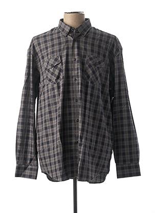Chemise manches longues gris TED LAPIDUS pour homme