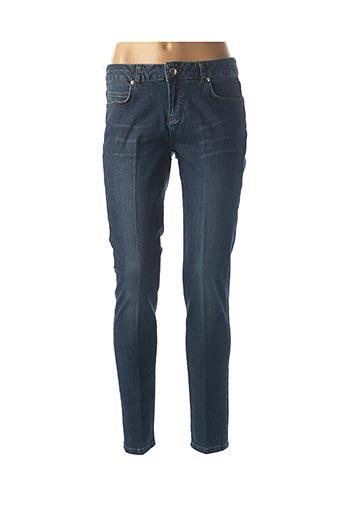 Jeans coupe slim bleu ATHÉ pour femme
