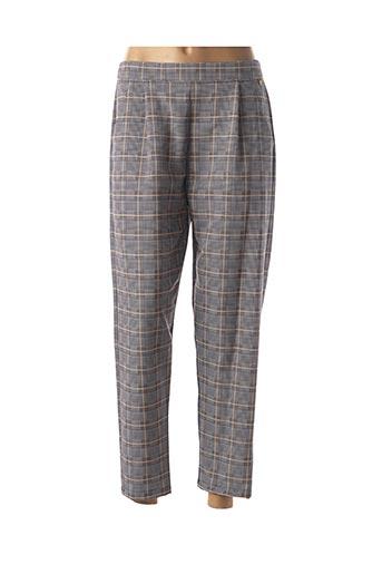 Pantalon casual gris PAUL BRIAL pour femme