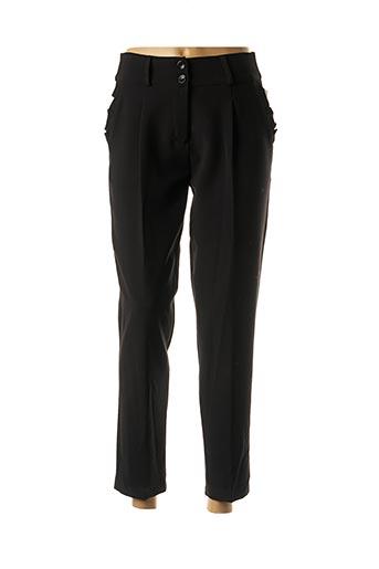 Pantalon 7/8 noir CHARMING GIRL pour femme