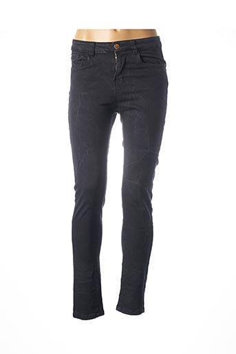 Pantalon casual bleu DEELUXE pour femme