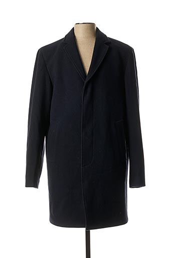 Manteau long bleu SELECT pour homme