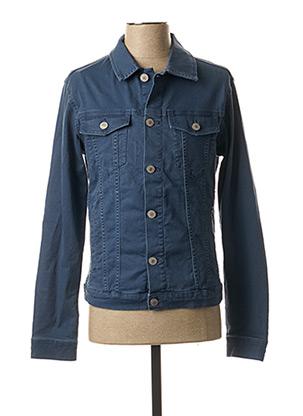 Veste en jean bleu JACK & JONES pour homme