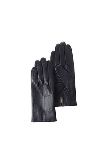 Gants noir ANDRE POUJADE pour femme