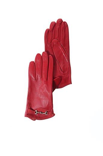 Gants rouge GANT SAINTE ANNE pour femme