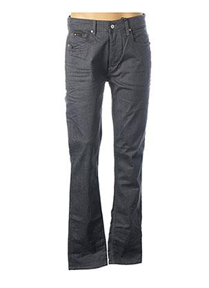 Pantalon casual gris FREEMAN T.PORTER pour homme